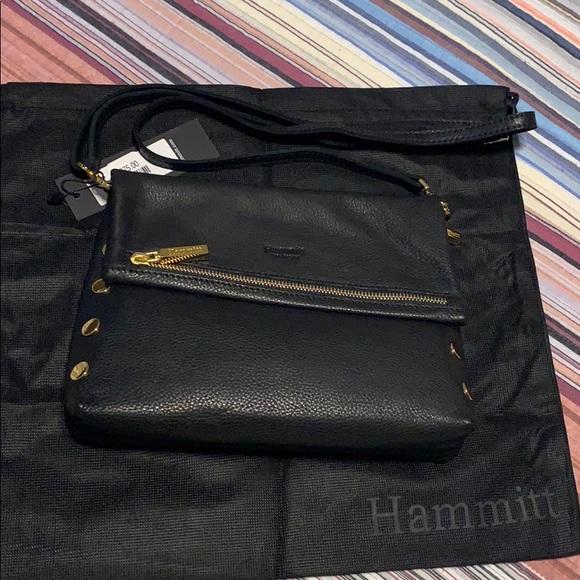 96131caa4 Hammitt Bags | Vip Studded Foldover Crossbody | Poshmark